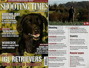 Shooting Times amp Country Magazine December 2006 - Northumberland, United Kingdom - Shooting Times amp Country Magazine December 2006 - Northumberland, United Kingdom