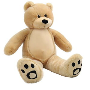 WOWMAX-3-Foot-Teddy-Bear-Giant-Soft-Stuffed-Animal-Plush-Toy-Hug-Doll-Brown