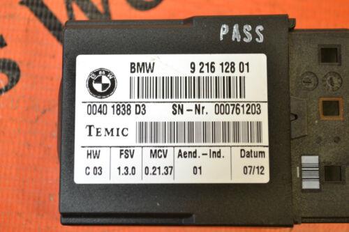 BMW 3 serie E92 Genuino LCPA módulo 9216128 De Traspaso Cinturón De Seguridad