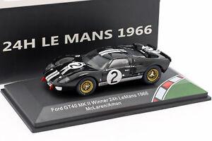 FORD-gt40-MK-II-2-24h-WINNER-LEMANS-1966-McLaren-Amon-1-43-CMR