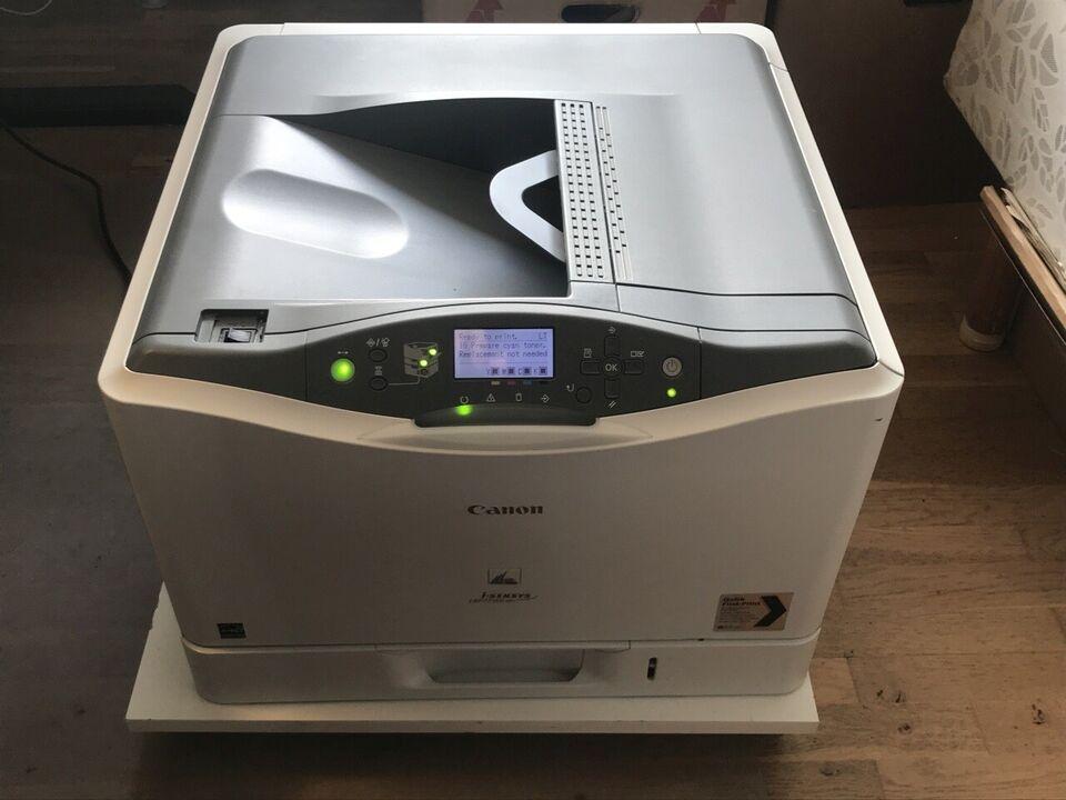 Laserprinter, Canon, i-SENSYS LBP7750Cdn