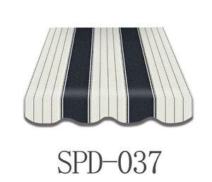 markisenstoff markisenbespannung mit volant 3 x 2 5 m. Black Bedroom Furniture Sets. Home Design Ideas