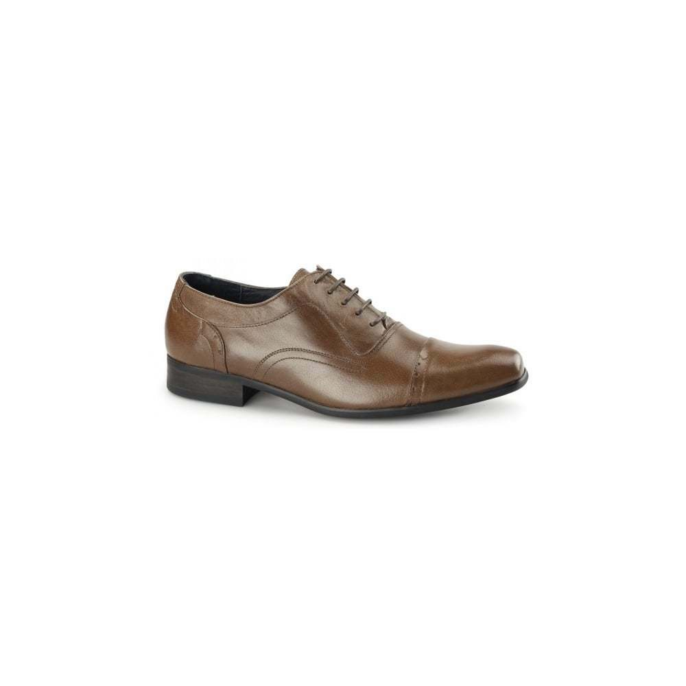 Azor shoes Padova Tan Leather shoes