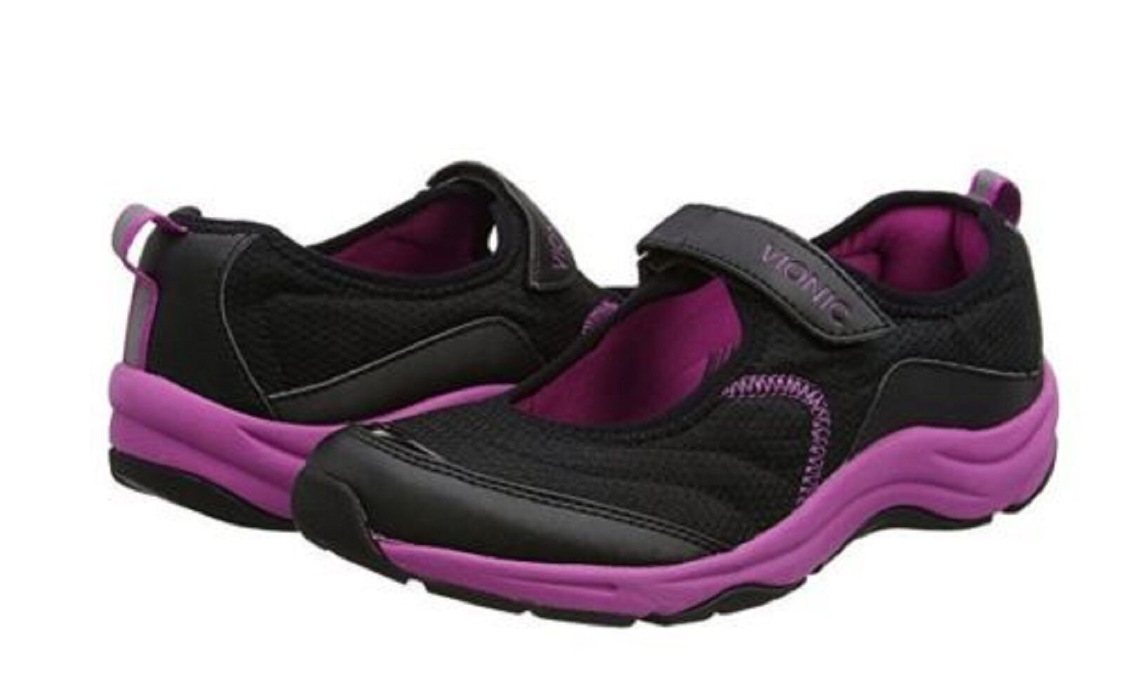 VIONIC Orthaheel 'Action Sunset' Ladies  Mary Jane shoes Black  Sz.5 M   NIB