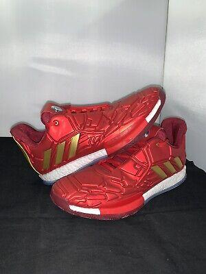 NEW Adidas James Harden Iron Man Stark