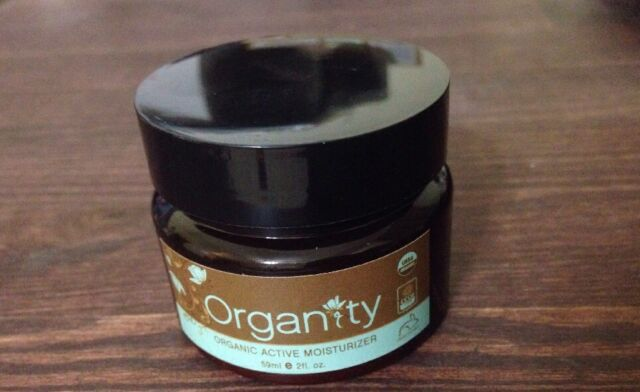 Organic Face Moisturizer - 100% All Natural Skin Care by Organity 2oz