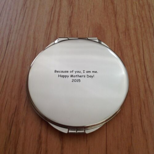 Qty 1 Things Remembered® Compact Mirror-Personalized-Mothers Day//Wedding//BDays