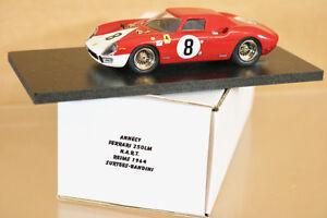 Annecy Miniatures Reims 1964 Ferrari 250lm Voiture 8 Surtees Bandinin Mint Boxed Nj