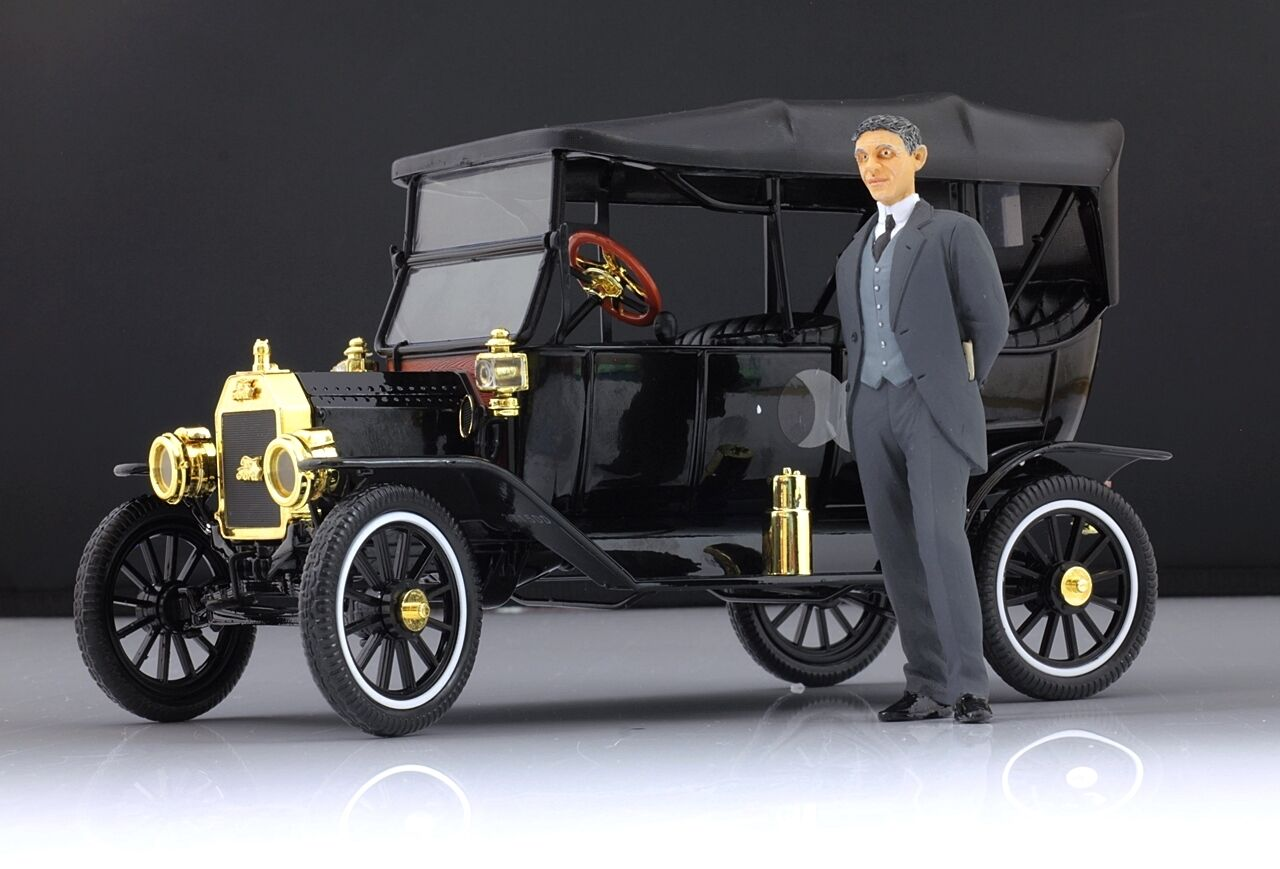 Henry Ford Figure pour 1 18 Model T MotorCityClassic