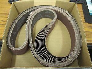 ARC-ABRASIVES-AO-Y-BELTS-2-034-X-72-034-GRIT-100-BOX-10PC-Sanding-Belts