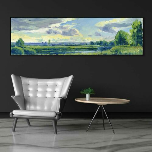 Wall picture art landcape art print trees Posters picture wall art Painting