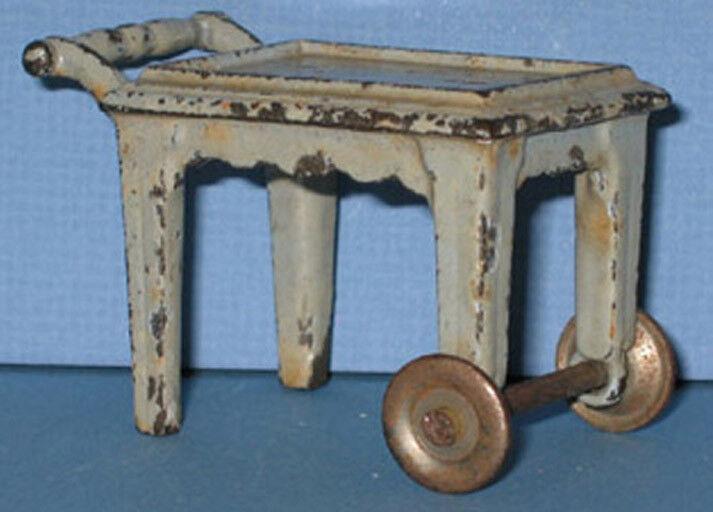 Auténtico & Old Kilgore Toy Tea Carro De Hierro Fundido Todos Orig  ahora con descuento  ci124