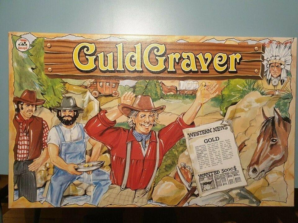 Guldgraver, brætspil