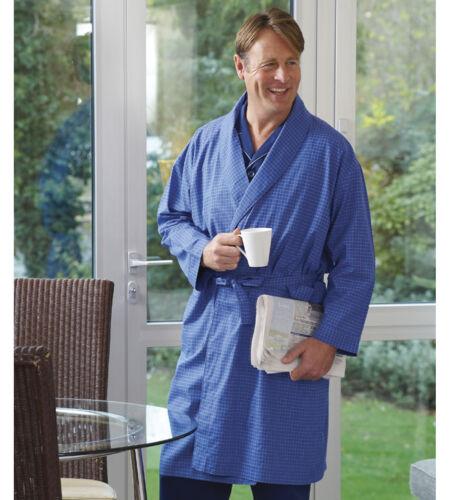 Polycotton vestaglia uomo M Kimono vestaglia da vestaglia involucro Xl Regal's regalo dqt6wq