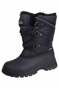 a54703223 Mountain Warehouse Kids UK 11 EU 29 Black Whistler Winter Snow ...