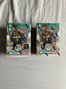 2019-20-PANINI-MOSAIC-NBA-BASKETBALL-Blaster-Box-FACTORY-SEALED-Lot-Of-2