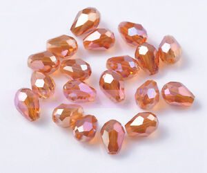 50pcs-7X5mm-Crystal-Glass-Beads-Facted-Loose-Beads-Free-Shipping-Wind-Red
