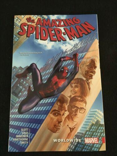 8 AMAZING SPIDER-MAN Vol WORLDWIDE Marvel Trade Paperback