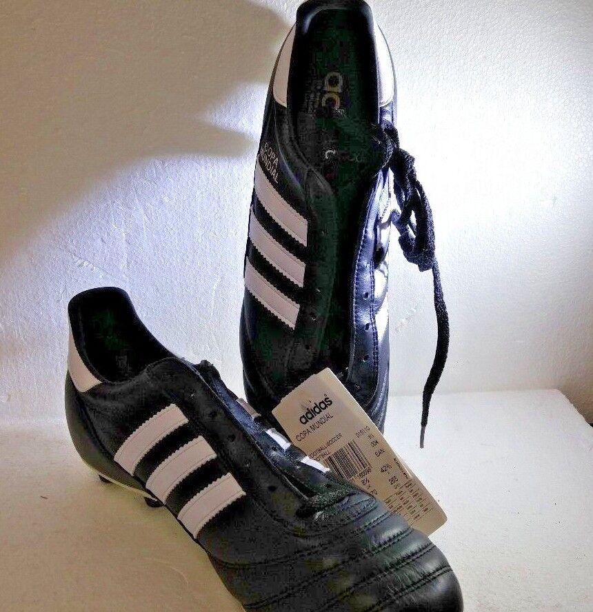 Adidas Copa Mundial, 0151150, Football/Soccer, Black/Runninwht, Size 9 US, NEW