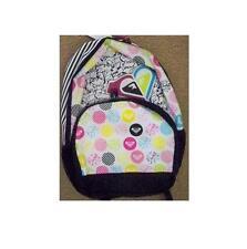 WOMEN'S GIRLS ROXY SHADOW VIEW BACKPACK MULTI LOGO  SCHOOL BAG NEW $55