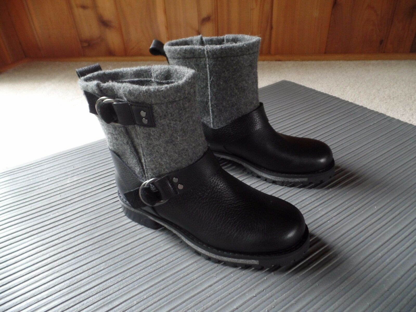 New Woolrich Boots Size Size Size 6 Black 33b60a