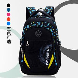 77ccdf41cd Image is loading Girls-Boys-Backpack-School-Bag-Travel-Satchel-Nylon-