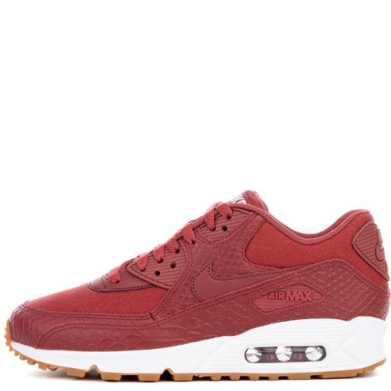 New Nike Women's Shoes Air Max 90 Premium Shoes Women's (896497-601)  Cedar/Cedar-Gum-White 072215