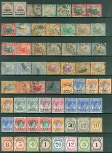 MALAYA-Group-of-Mint-amp-Used-Mostly-singles-Catalog-550-00
