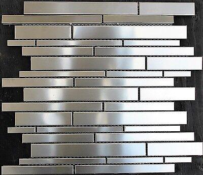 Stainless Steel Mosaic Tile Metal