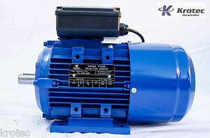 Electric-motor-single-phase-240v-1-1kw-1-5hp-2840rpm