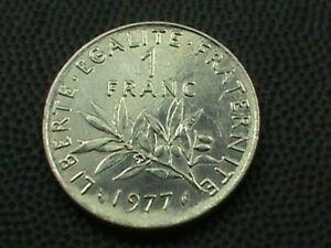 Francia-1-Franco-1977-UNC-Massima-in-USA