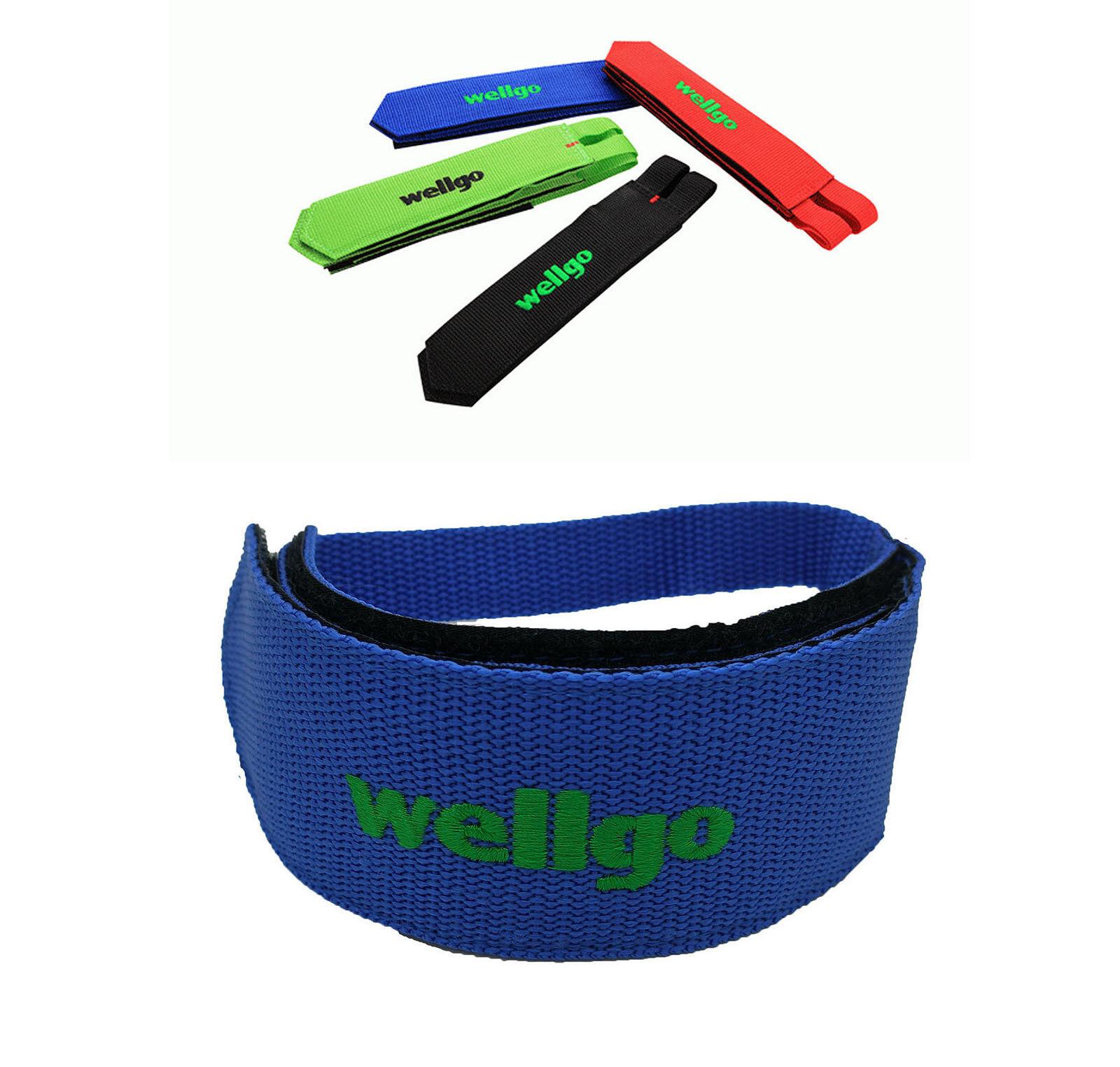 2x Straps Correas de Nylon de WELLGO para Pedales Pedales Pedales de Bicicleta Fixie Azul 3211a 270629