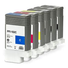 6x Tintenpatronen Canon® iPF 650/ 655/ 750/ 755/ 760/ 765 | PFI-102 | PFI-104