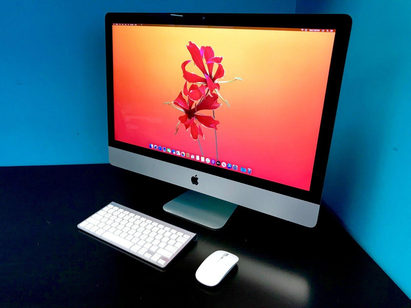 Apple iMac 27 SLIM Display | i7 QUAD | 1TB SSD 16GB |All-in-One Desktop Warranty. Buy it now for 1099.00