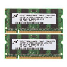 4GB 2x 2GB Kit PC2-6400 Laptop Memory HP Part# 493159-001 493162-001 493195-001