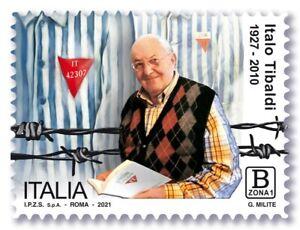 """FRANCOBOLLO ITALIA 2021 NUOVO """" dedicato a ITALO TIBALDI """""""