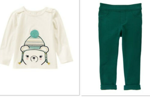 NEW GYMBOREE  Polar Bear Pants Outfit All Spruced Up NWT SIZE 12-18 Mths