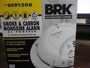 2019 BRK SC9120B COMBO SMOKE/CARBON MONOXIDE DETECTOR 2019 DATE ALARM AC/DC NIB
