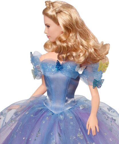 "Mattel 12/"" Disney Cinderella Royal Ball Cinderella Doll Live Action Movie Figure"