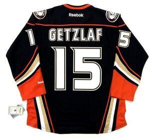 sale retailer 3c60e 11b96 Details about RYAN GETZLAF ANAHEIM DUCKS REEBOK NHL PREMIER THIRD JERSEY  NEW WITH TAGS