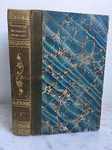 Diccionario Las Ciencias Y Las Artes Contenedor M. Lunier Tomo 1 París 1805