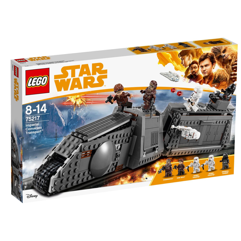 LEGO Star Wars 75217 Imperial Conveyex Transport Véhicule Chewbacca N8/18
