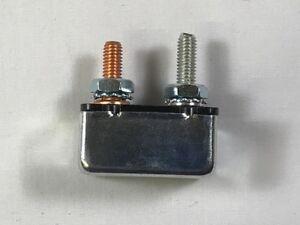 2 pcs, EATON Bussmann 121B40-00M-KA Shortstop Circuit Breaker, Type I Reset, 40A