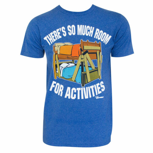 Step Brothers Room For Activities Tee Shirt Blue