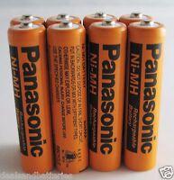 8 Panasonic Aaa 1.2v Ni-mh 700mah Rechargeable Batteries For Cordless Phones