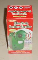 Ultra Sonic Cordless Repeller Motion Sensor Repels Animals Rodents & Pests