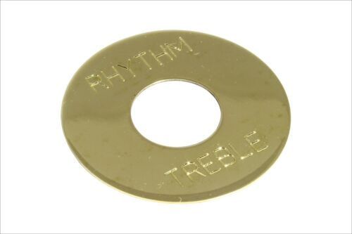 Toggle Switch Ring Plate Solid Brass non-plated for Gibson Les Paul