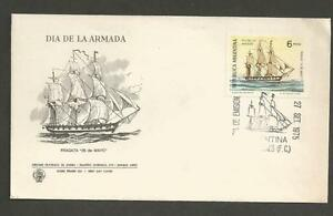 ARGENTINA-1975-Navy-Day-FIRST-DAY-COVER