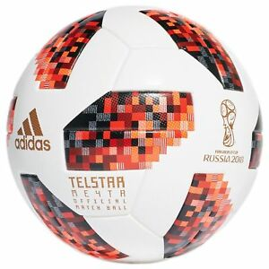 df1701312a4 Image is loading Adidas-Telstar-World-Cup-2018-Russia-Knockout-Official-