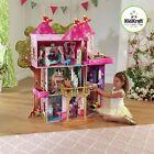 "Kidkraft Storybook Mansion Wooden Dollhouse & Furniture 12"" Barbie Size Dolls"